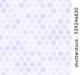 Snowflake Pattern. Seamless...