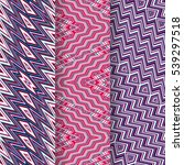 Set Of 3 Abstract Patterns....