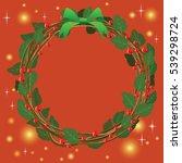 illustration for christmas and... | Shutterstock .eps vector #539298724