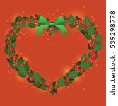 illustration for christmas and... | Shutterstock .eps vector #539298778