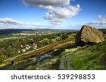 View Of Ilkley Yorkshire...