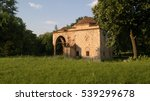 the old mosque in fortress | Shutterstock . vector #539299678