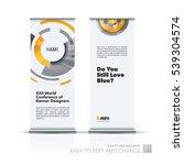 abstract business vector set of ... | Shutterstock .eps vector #539304574