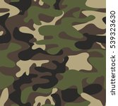 camouflage pattern background... | Shutterstock .eps vector #539323630