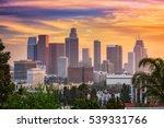 los angeles  california  usa... | Shutterstock . vector #539331766
