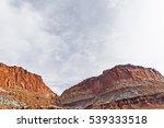 sunny desert landscape in...   Shutterstock . vector #539333518
