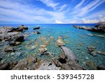 mediterranean landscape | Shutterstock . vector #539345728