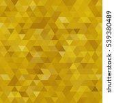 golden triangular seamless... | Shutterstock .eps vector #539380489