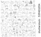 monochrome patch badges of... | Shutterstock .eps vector #539401054