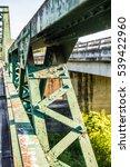 some part of memorial bridge at ... | Shutterstock . vector #539422960