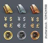 vector money symbol | Shutterstock .eps vector #539424988
