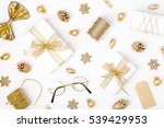christmas or new year... | Shutterstock . vector #539429953