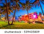 miami beach  florida  usa on... | Shutterstock . vector #539435809