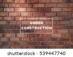 under construction illustration ... | Shutterstock .eps vector #539447740
