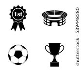 football icons  vector set | Shutterstock .eps vector #539448280
