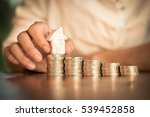 close up pf the people hand... | Shutterstock . vector #539452858