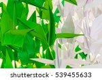origami paper birds | Shutterstock . vector #539455633