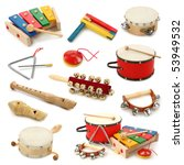musical instruments collection... | Shutterstock . vector #53949532