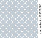 seamless polka dots pattern... | Shutterstock .eps vector #539503888