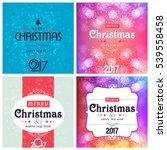 christmas background design | Shutterstock .eps vector #539558458