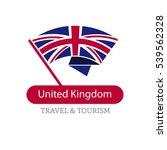 united kingdom the travel... | Shutterstock .eps vector #539562328