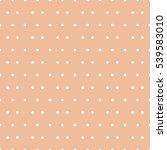 seamless polka dots pattern... | Shutterstock .eps vector #539583010