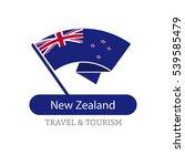newzeland the travel... | Shutterstock .eps vector #539585479
