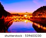 view of st. peter's basilica... | Shutterstock . vector #539603230