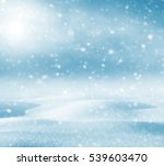 winter festive background.... | Shutterstock . vector #539603470