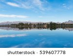 A Landscape Of Lakes And...