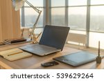 side view picture of studio... | Shutterstock . vector #539629264