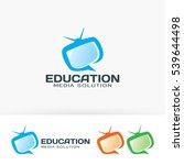 education media  television ... | Shutterstock .eps vector #539644498