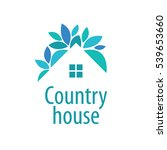 vector logo house | Shutterstock .eps vector #539653660