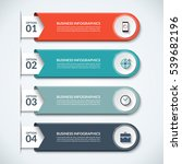 modern infographic elements.... | Shutterstock .eps vector #539682196