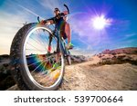 mountain bike.sport and healthy ... | Shutterstock . vector #539700664