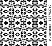 abstract black and white vector ... | Shutterstock .eps vector #539703760