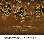 fashion christmas background... | Shutterstock . vector #539715718