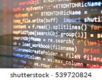 software developer programming... | Shutterstock . vector #539720824