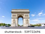 paris  france   august 28  2016 ... | Shutterstock . vector #539722696