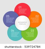 colorful vector elements with... | Shutterstock .eps vector #539724784