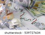 currency exchange trading... | Shutterstock . vector #539727634