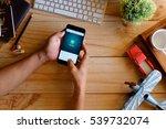 chiang mai thailand   dec 20 ... | Shutterstock . vector #539732074