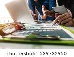 business team meeting. photo... | Shutterstock . vector #539732950