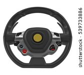 sport car steering wheel on... | Shutterstock . vector #539733886