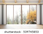 contemporary interior with... | Shutterstock . vector #539745853