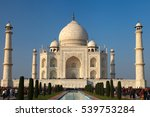 agra. india   january 26  2013  ... | Shutterstock . vector #539753284
