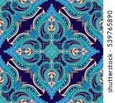 vector seamless dark background ... | Shutterstock .eps vector #539765890