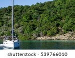 Sailing Yacht Moored By An...