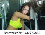 asian woman fitness | Shutterstock . vector #539776588