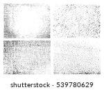 grunge overlay textures.vector... | Shutterstock .eps vector #539780629